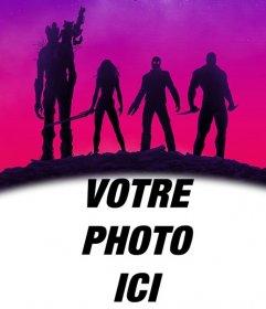 Affiche des Gardiens de la Galaxie à personnaliser avec votre photo