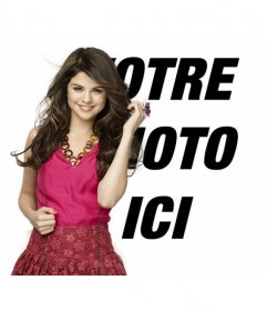Montez photos de poster une photo le long de la célèbre actrice et chanteuse Selena Gomez