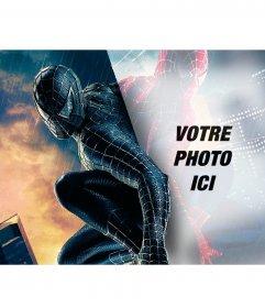 Photomontage de mettre votre photo dans le reflet de Spiderman
