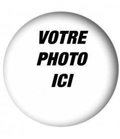 Photo Arrondi cadres avec effet dombrage