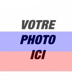 Créer un photomontage en ligne du drapeau russe avec votre photo