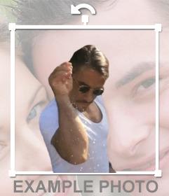 Ajoutez le sel meme bae, le célèbre chef Nusret Gökçe sur votre photo