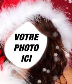 Photomontage assistante du Père Noël à faire avec votre photo en ligne