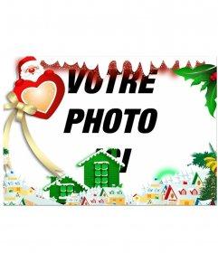 Entourez votre image avec un Village de Noël éditer cet effet en ligne