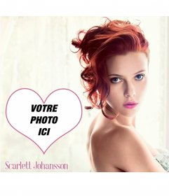 Montage photo avec Scarlett Johansson