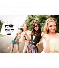 Photomontage avec les filles de SNSD
