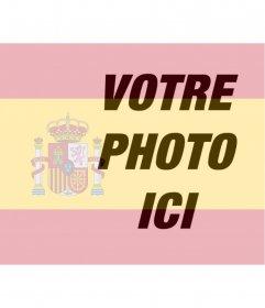 Photomontage de mettre le drapeau de l'Espagne dans votre photo que vous pouvez utiliser à votre photo de profil