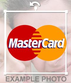 Logo de Master Card, vous pouvez coller sur vos photos et avoir un effet