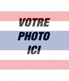 """Modèle pour un collage peinture faciale ou une photo dans la transparence avec le drapeau de la Thaïlande, il suffit de télécharger la photo, de l""""éditer en ligne et vous pouvez enregistrer ou envoyer à vos amis par e-mail"""