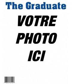Avez-vous été diplômé? Créez la couverture mag coutume du magazine Graduate!