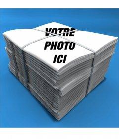 Photomontage pour mettre votre photo sur la couverture dun journal