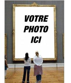 Photomontage pour mettre votre photo dans un cadre