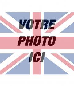 Filtre de drapeau du Royaume-Uni pour superposer sur votre photo