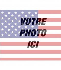 Images du drapeau des États-Unis à mettre sur votre photo