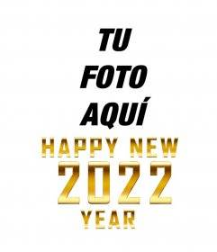 Congratulations 2020 with golden letters on your photo