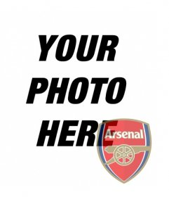 Collage to put Arsenal shield in your photo. Perfect to put as your avatar