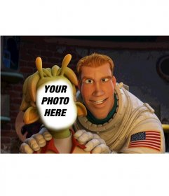 Photomontage of Lem and Chuck from Planet 51 to put a picture