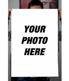 Put your picture on a poster with this fun photo effects online