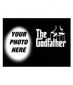 Photomontage to put your photo on the poster for the movie The Godfather