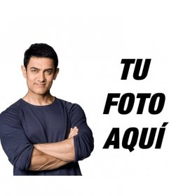 Photomontages with the actor Aamir Khan