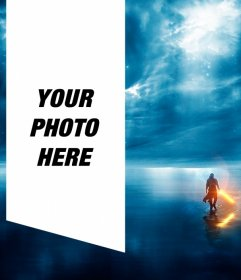 Photo effect to make your photo next to Jedi Knight