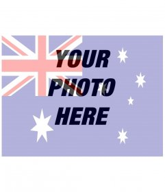 Australian flag to put on your photo online