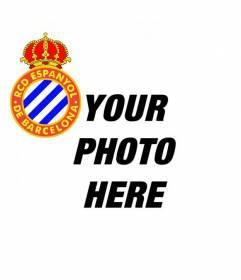 Custom Avatar with the Espanyol de Barcelona football team shield