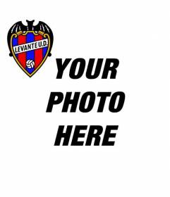 The shield of the Levante to create a photo montage for your Twitter or Facebook profile