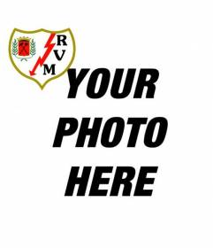 Rayo Vallecano of Madrid Shield. Now you can cheer your football team by adding its shield to your profile picture on Facebook