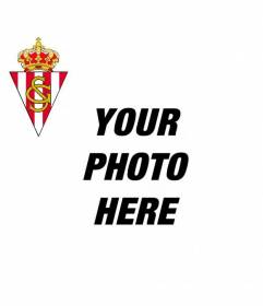 Add the Real Sporting of Gijon shield to your Facebook or Twitter photograph and encourage your favorite football team