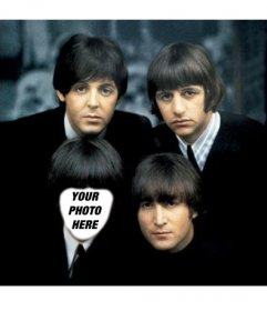 With this online effect you will appear as one of the Beatles
