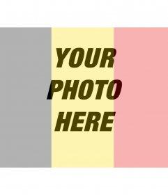 Belgium flag to put on your photo