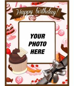 Fine Birthday Postcards To Do With Your Photos Photofunny Funny Birthday Cards Online Fluifree Goldxyz