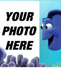 Customizable effect with Dory of Finding Nemo