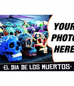 Collage for the Day of the Dead