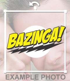 Sticker of Bazinga!