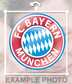 Logo of the Bayern Munich in a badge ready to paste in your photos