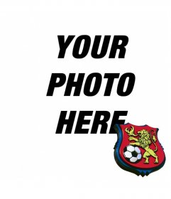 Put the shield of Deportivo de Caracas in your photo