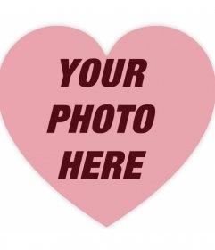 Filter to put a transparent heart over your photos