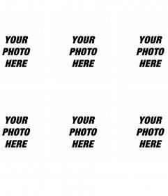 Create passport photos for printing online