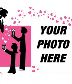Ideal gift for mom on her day with your photo
