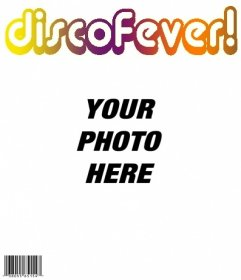 Want to be the king of the party? Create a magazine cover disk perzonalizada the Fever! Upload a photo and edit it with this template. You can download or send the image by email