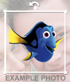 Paste Dory on your photos by uploading them to this online photo effect