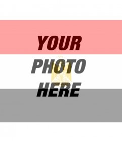 Egyptian flag to put in your photos