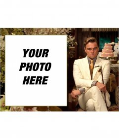 Photomontage of The Great Gatsby