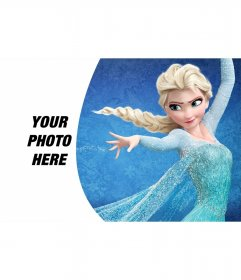 Background for photos of Elsa