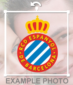 Espanyol badge logo to decorate your sports photos