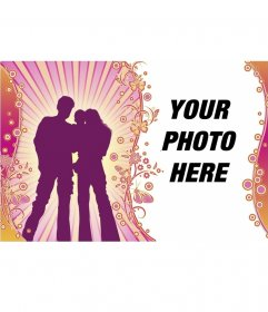 Postcard of family love to personalize with your photo