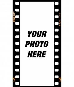 Film frame filters for instagram stories