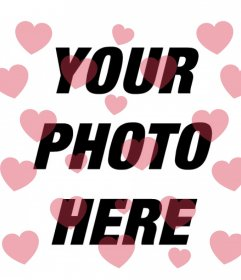 Ffloating hearts on your photos with this filter to edit online